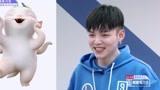 【偶像練習生】朱星杰:犯萌變身胡巴  練習室無縫互動