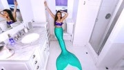 美人魚殺人無數,卻被人類引誘上岸,離開水立刻變成美人魚干