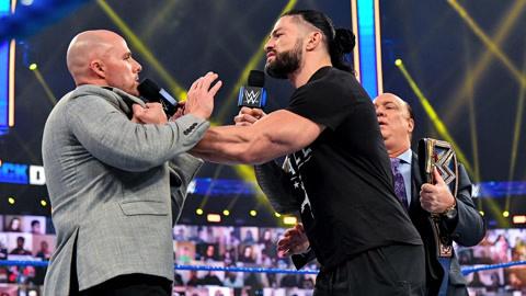 WWE SmackDown 20210109 第1116期 英文解说