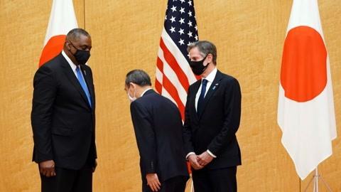 美日会议讨论遏制中国